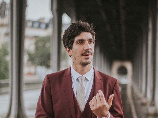Le mariage de Fabrice et Valeria à Paris, Paris 20