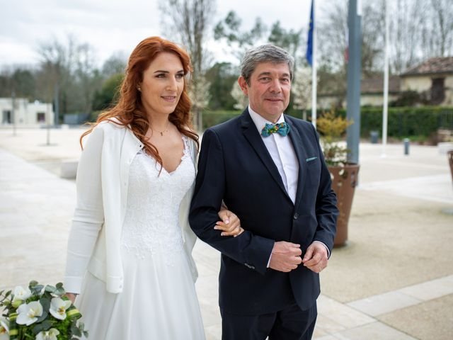 Le mariage de Guillaume et Valentine à Izon, Gironde 4