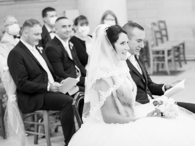 Le mariage de Sébastien et Caroline à Merey, Eure 27