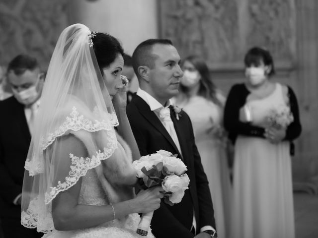 Le mariage de Sébastien et Caroline à Merey, Eure 29