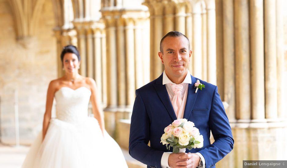 Le mariage de Sébastien et Caroline à Merey, Eure