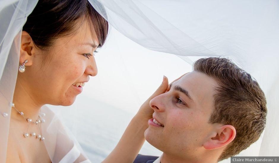 Le mariage de Jérôme et Saeko à Marseille, Bouches-du-Rhône