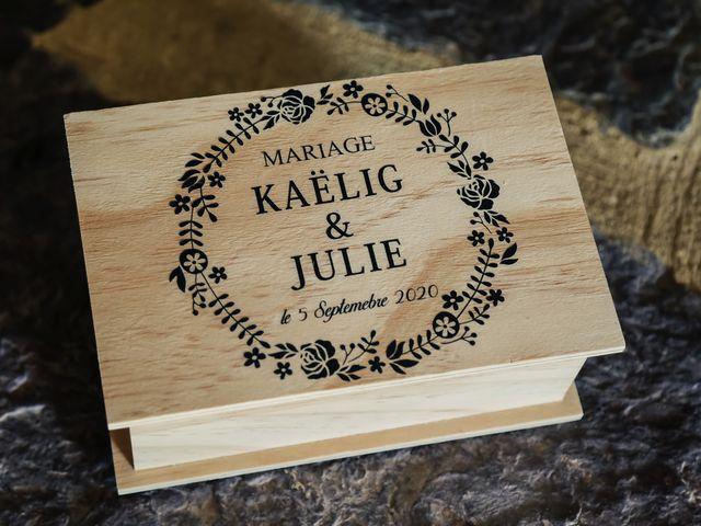 Le mariage de Kaëlig et Julie à Paimpont, Ille et Vilaine 19