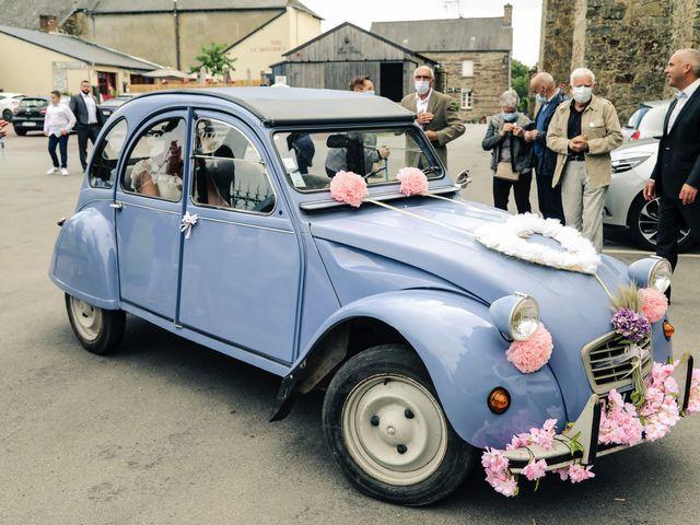 Le mariage de Kaëlig et Julie à Paimpont, Ille et Vilaine 43