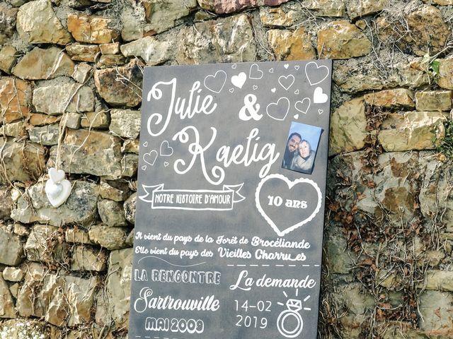 Le mariage de Kaëlig et Julie à Paimpont, Ille et Vilaine 103