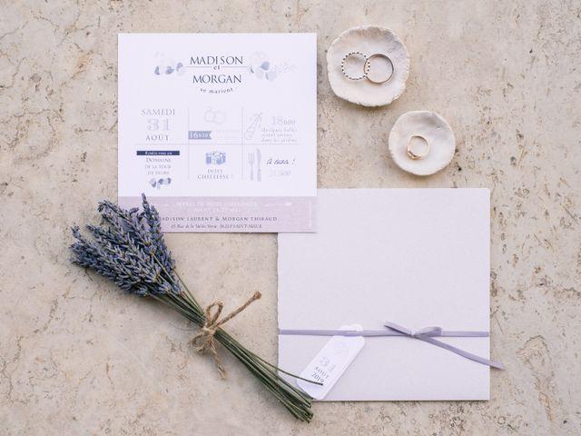 Le mariage de Morgan et Madison à Diors, Indre 8