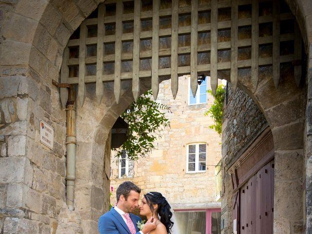 Le mariage de Geoffroy et Perrine à Sévérac-le-Château, Aveyron 3