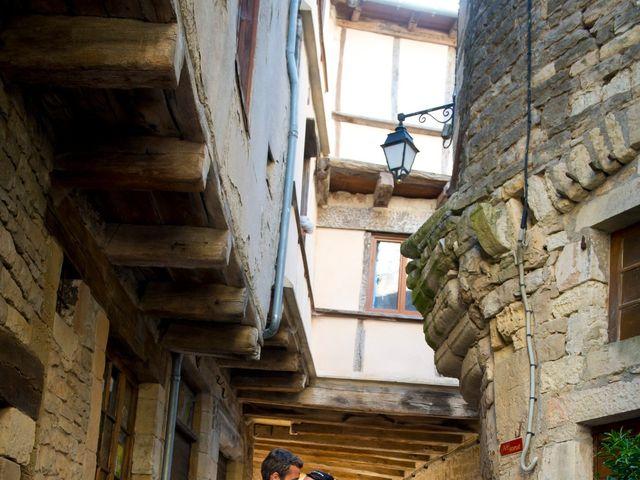 Le mariage de Geoffroy et Perrine à Sévérac-le-Château, Aveyron 8