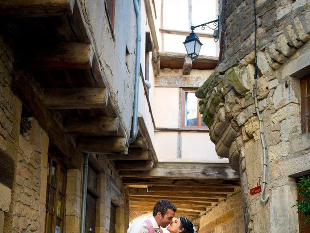 Le mariage de Geoffroy et Perrine à Sévérac-le-Château, Aveyron 9