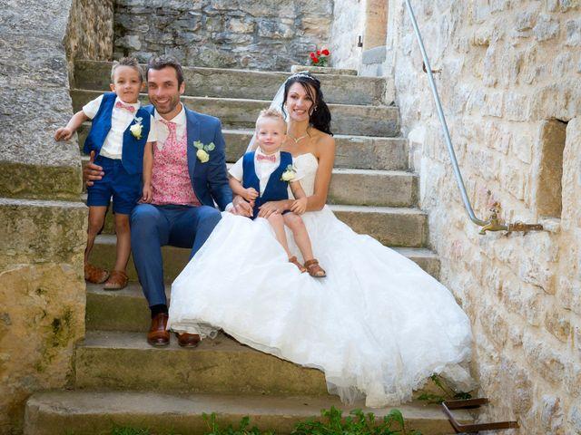 Le mariage de Geoffroy et Perrine à Sévérac-le-Château, Aveyron 2