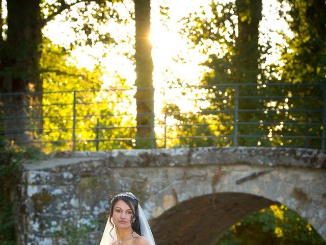 Le mariage de Geoffroy et Perrine à Sévérac-le-Château, Aveyron 13