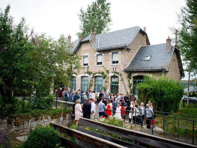 Le mariage de Geoffroy et Perrine à Sévérac-le-Château, Aveyron 38