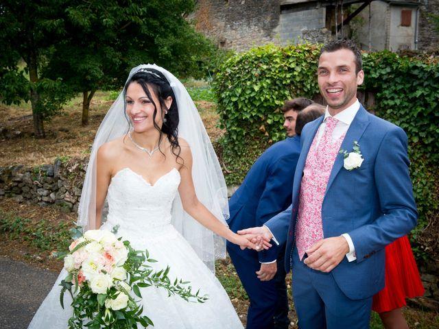 Le mariage de Geoffroy et Perrine à Sévérac-le-Château, Aveyron 40