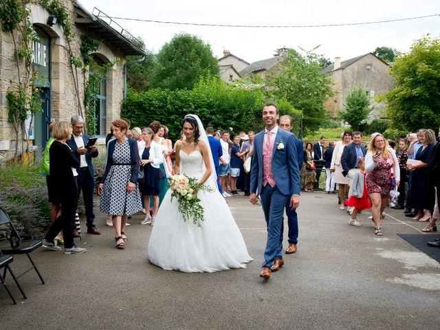 Le mariage de Geoffroy et Perrine à Sévérac-le-Château, Aveyron 41