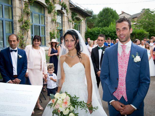 Le mariage de Geoffroy et Perrine à Sévérac-le-Château, Aveyron 43