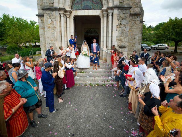 Le mariage de Geoffroy et Perrine à Sévérac-le-Château, Aveyron 70