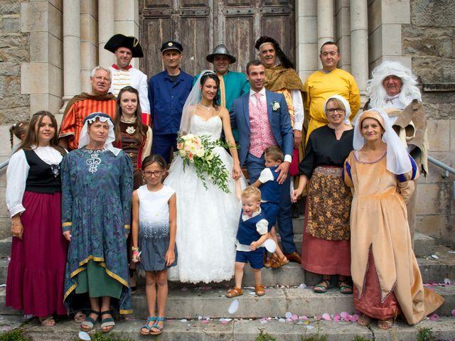 Le mariage de Geoffroy et Perrine à Sévérac-le-Château, Aveyron 72