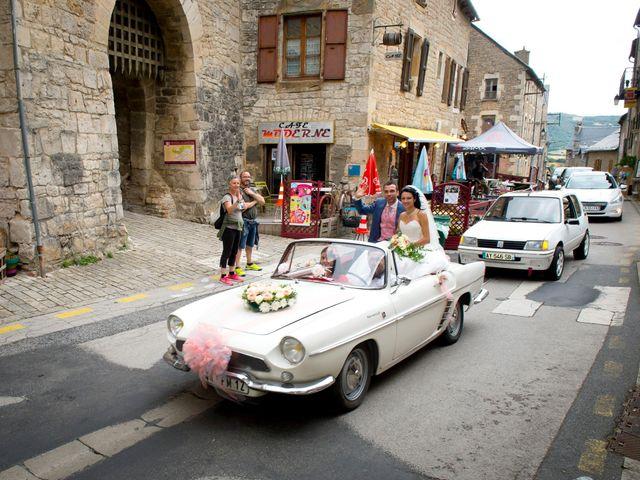 Le mariage de Geoffroy et Perrine à Sévérac-le-Château, Aveyron 76
