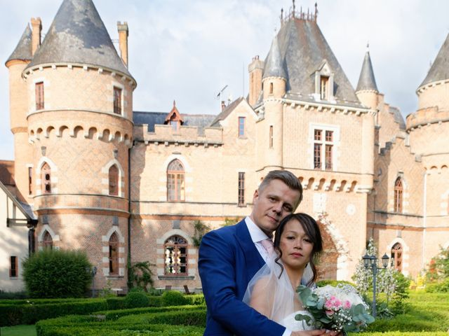 Le mariage de Davy et Sylvie à Saint-Priest-Bramefant, Puy-de-Dôme 37