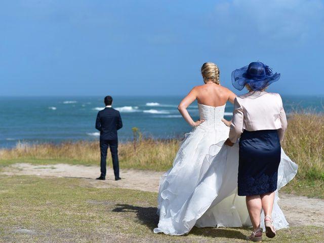 Le mariage de Jessica et Fabien à Ploudalmézeau, Finistère 4