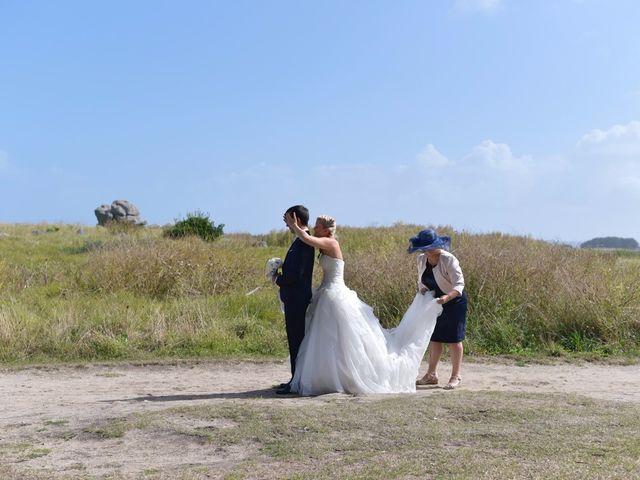 Le mariage de Jessica et Fabien à Ploudalmézeau, Finistère 5