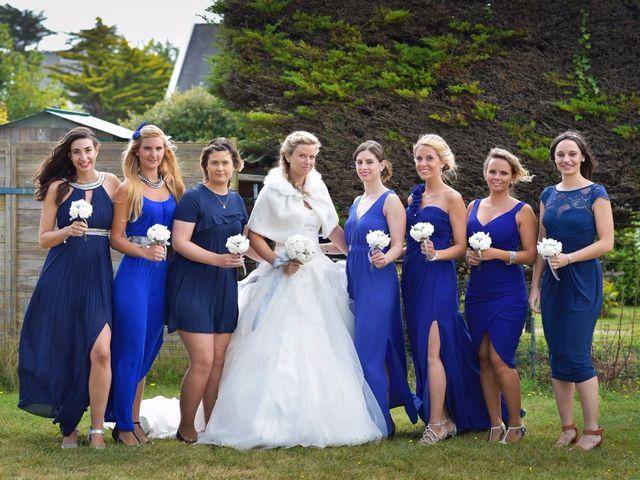 Le mariage de Jessica et Fabien à Ploudalmézeau, Finistère 12