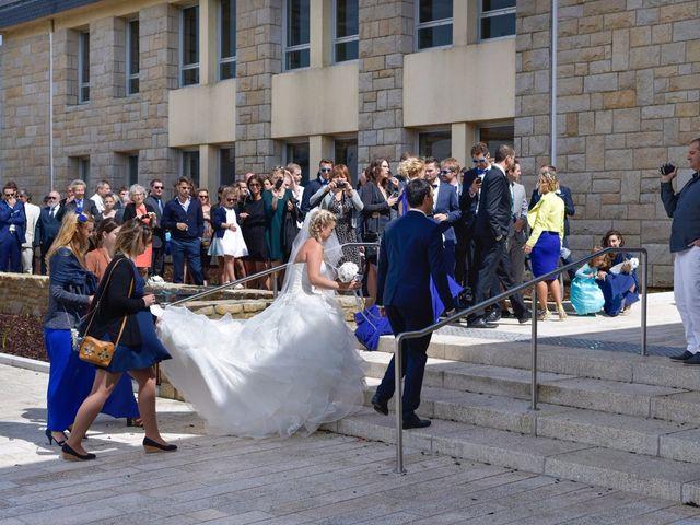 Le mariage de Jessica et Fabien à Ploudalmézeau, Finistère 17