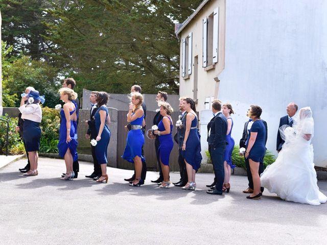 Le mariage de Jessica et Fabien à Ploudalmézeau, Finistère 24