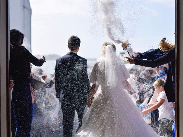 Le mariage de Jessica et Fabien à Ploudalmézeau, Finistère 29