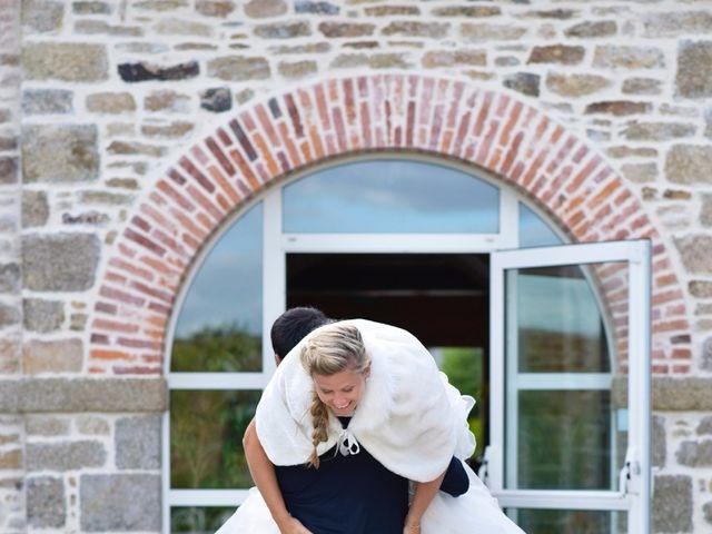 Le mariage de Jessica et Fabien à Ploudalmézeau, Finistère 35