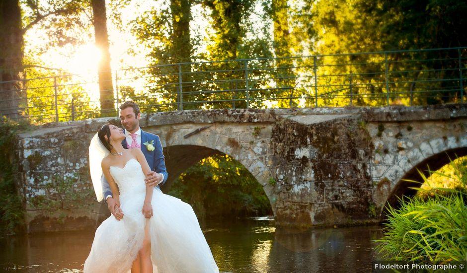 Le mariage de Geoffroy et Perrine à Sévérac-le-Château, Aveyron