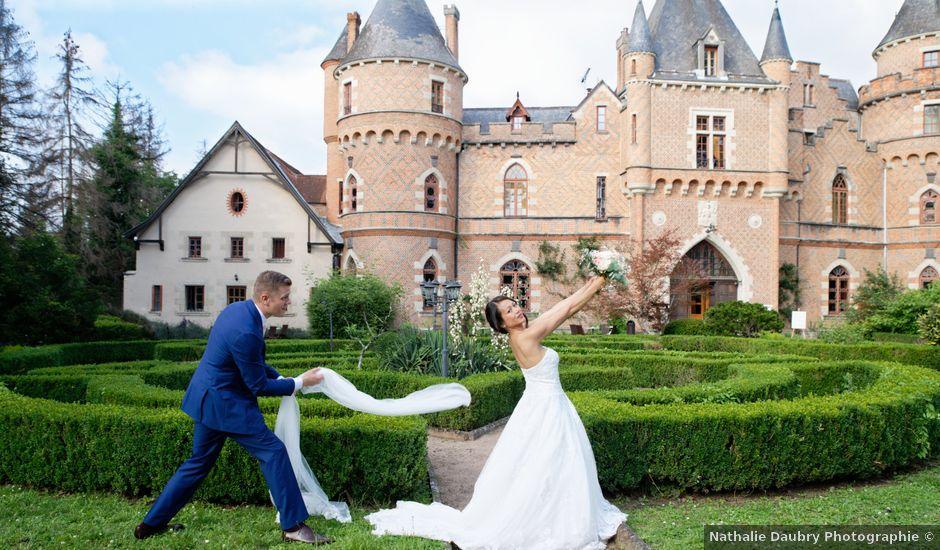 Le mariage de Davy et Sylvie à Saint-Priest-Bramefant, Puy-de-Dôme