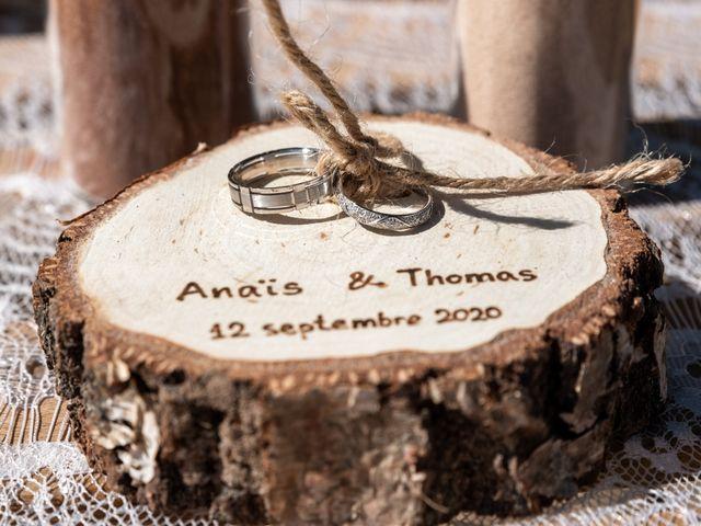 Le mariage de Thomas et Anaïs à Saint-Germain-des-Prés, Tarn 11