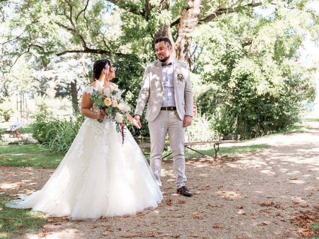 Le mariage de Thomas et Anaïs à Saint-Germain-des-Prés, Tarn 14