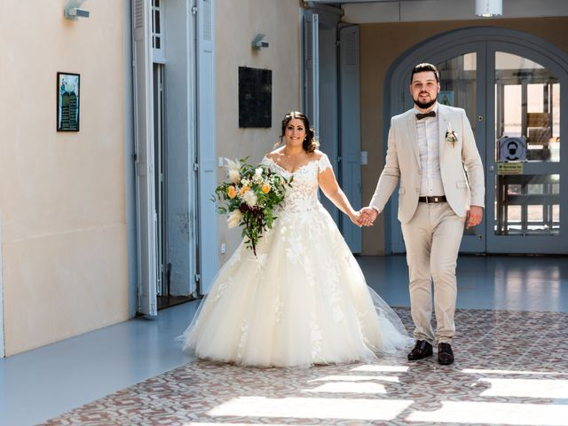 Le mariage de Thomas et Anaïs à Saint-Germain-des-Prés, Tarn 15