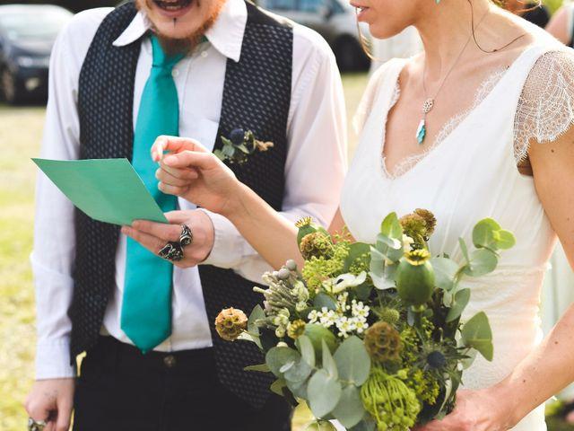 Le mariage de Jérémie et Claire à Monferran-Savès, Gers 14