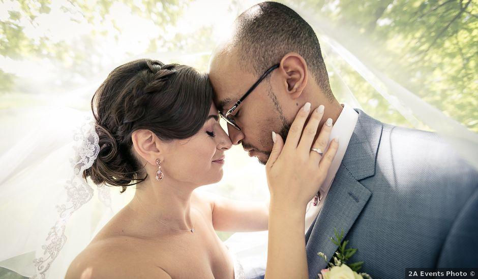 Le mariage de Davy et Militsa à Steinbrunn-le-Bas, Haut Rhin