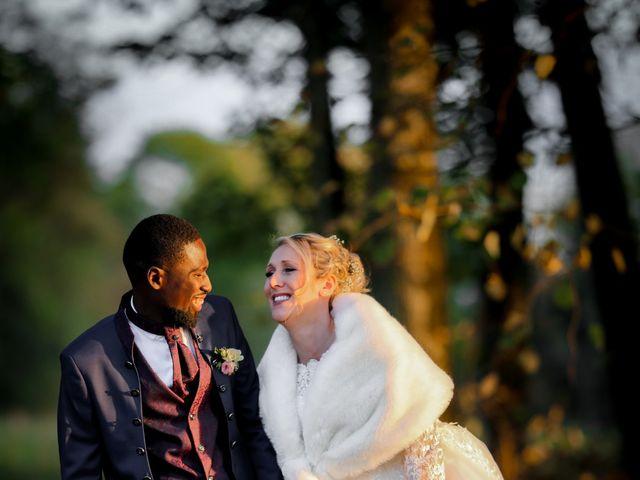 Le mariage de Diadié et Emilie à Trouhans, Côte d'Or 71