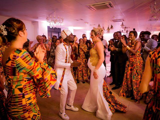 Le mariage de Diadié et Emilie à Trouhans, Côte d'Or 103