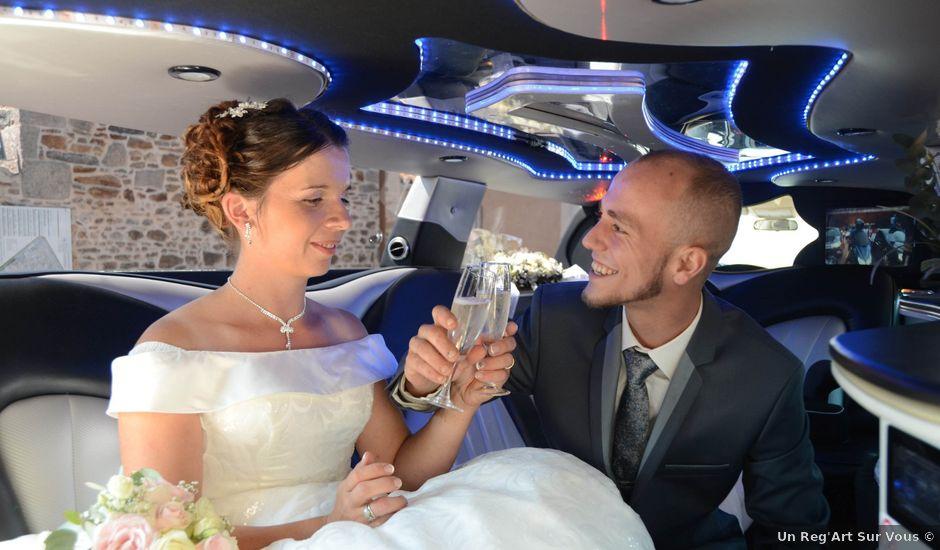 Le mariage de Guillaume et Aurélie à Bellac, Haute-Vienne