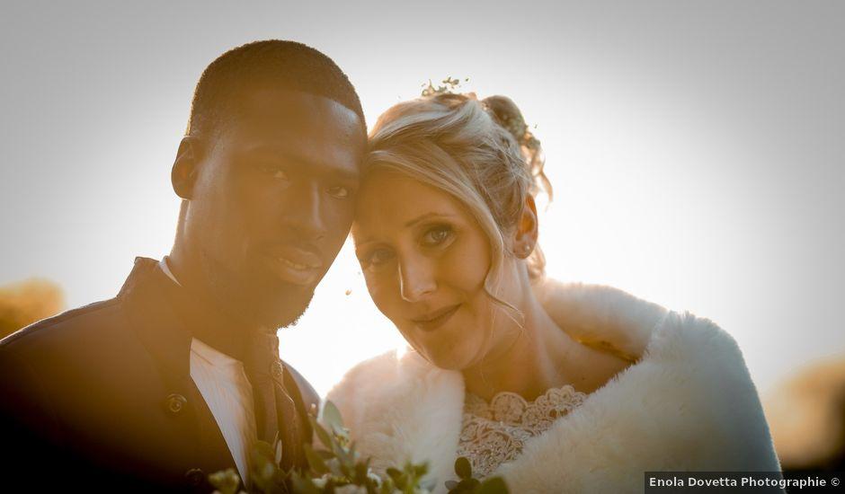 Le mariage de Diadié et Emilie à Trouhans, Côte d'Or