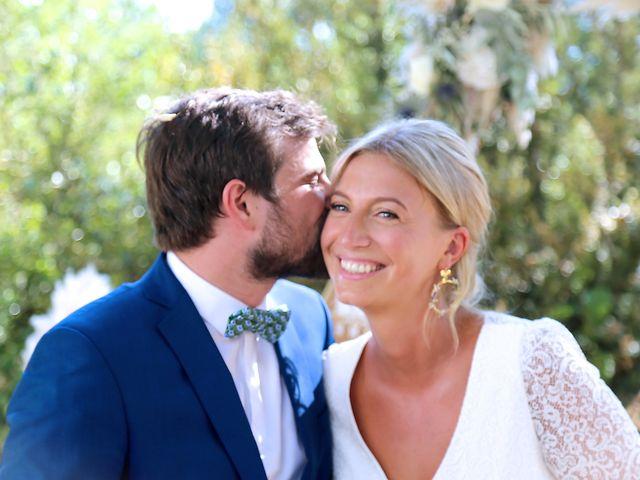 Le mariage de Valentin et Capucine à Conqueyrac, Gard 1