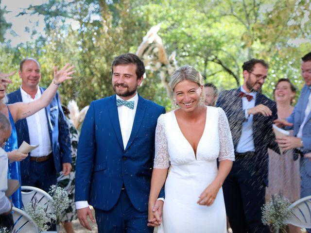 Le mariage de Valentin et Capucine à Conqueyrac, Gard 9