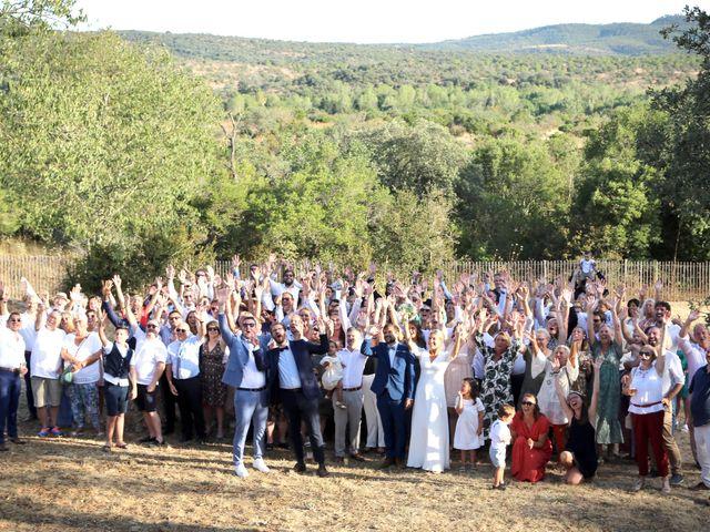 Le mariage de Valentin et Capucine à Conqueyrac, Gard 2
