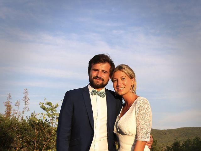 Le mariage de Valentin et Capucine à Conqueyrac, Gard 11