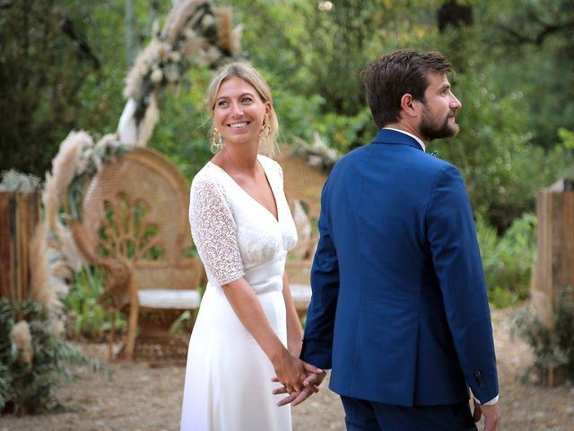 Le mariage de Valentin et Capucine à Conqueyrac, Gard 12