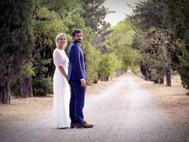 Le mariage de Valentin et Capucine à Conqueyrac, Gard 14