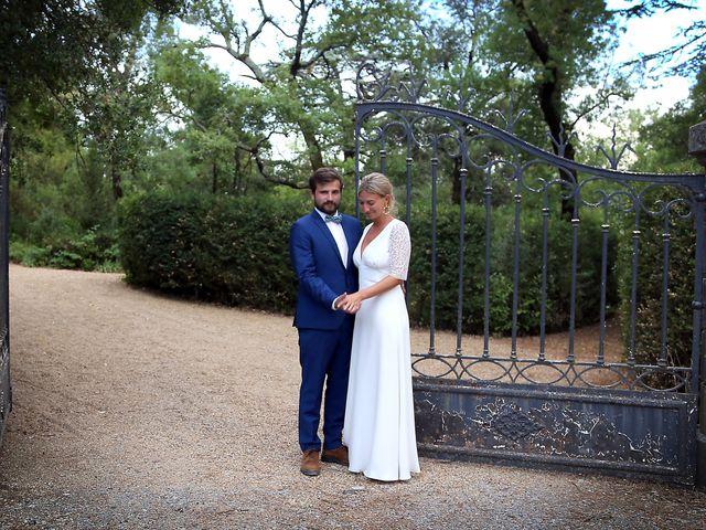 Le mariage de Valentin et Capucine à Conqueyrac, Gard 18