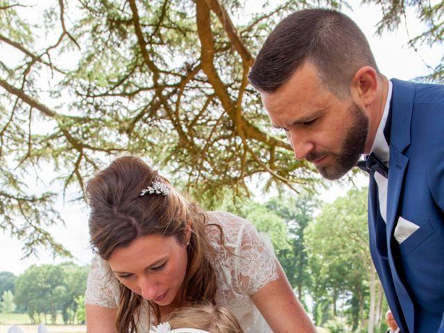 Le mariage de Florian et Audrey à Maxent, Ille et Vilaine 56