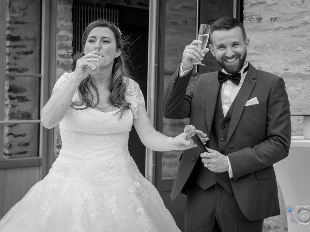 Le mariage de Florian et Audrey à Maxent, Ille et Vilaine 89